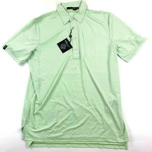 Ralph Lauren RLX Mens Large Polo Shirt Golf Green